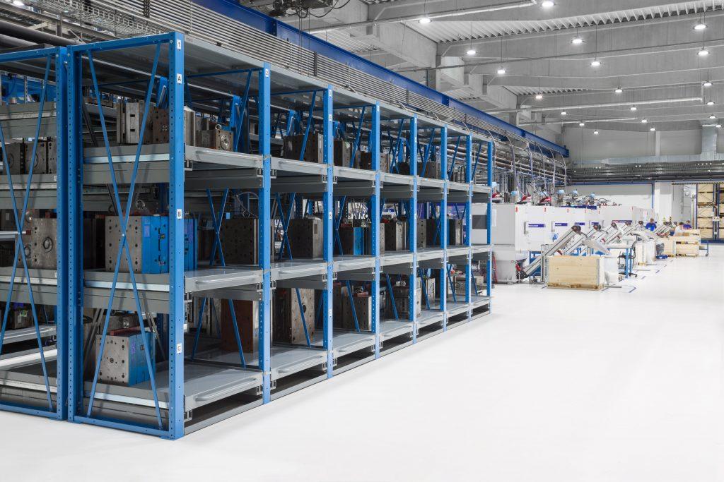 Prostředí ve výrobní hale